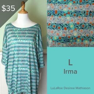 NWT LuLaRoe Irma Tunic